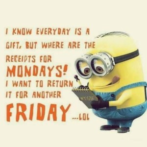 Minions TGIF LOL Quotes Images