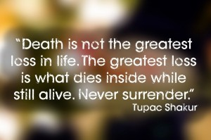 2pac quotes about death images