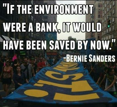 Bernie Sanders Quote On Environment