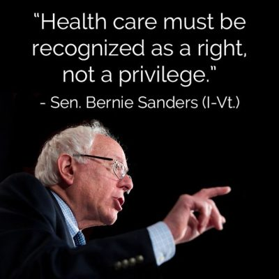 Bernie Sanders Quote On Health