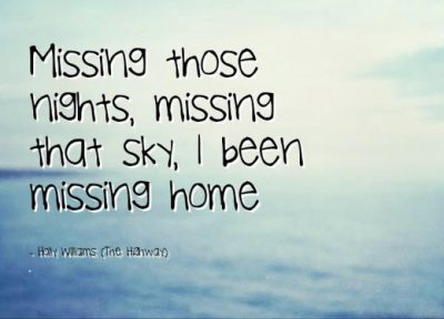 Bitter Sweet Missing Home Quotes