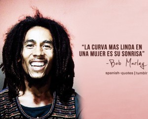 Bob Marlet Marijuana Quotes in Spanish Images