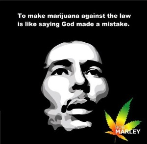 Bob Marley Marijuana Quotes Images