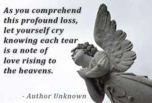Comforting Words Quotes about Death Images