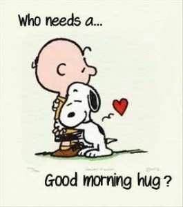 Cute Good Morning Hug Card Images