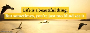 Cute Quotes on Life for Facebook Cover IMages