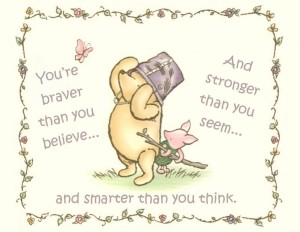 Cute Wordings about Life by Winnie the Pooh IMages