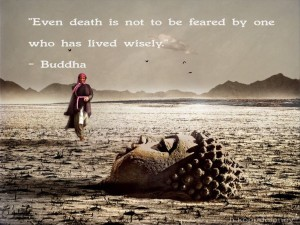 Death Quotes by Buddha Images