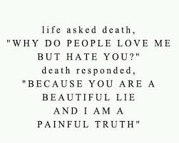Deep cute quotes about life and death imgs