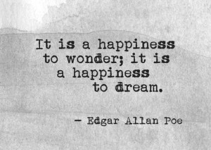 Edgar Allan Poe Quotes on Happiness images