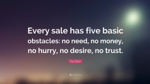 Encouraging quotes by zig ziglar on sales IMages