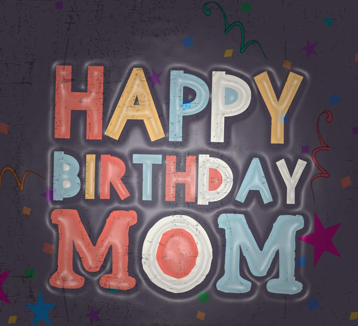 Funny Cute Happy Birthday Mom Card Images