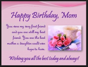 Happy Birthday Mom Quotes Card from daughter pics