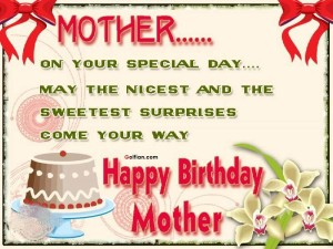 Happy Birthday Mom Special Quotes Image