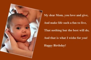 Happy Birthday Wishes to my Mom Quotes Images