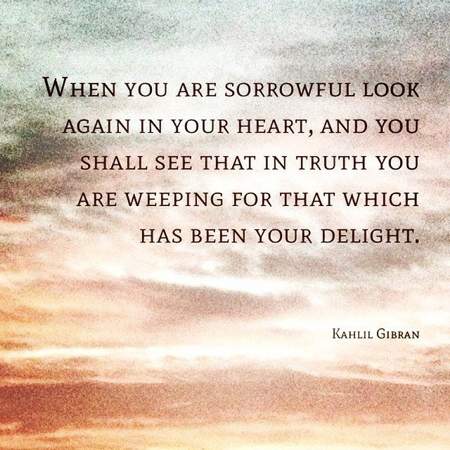 Painful Heart Touching Quotes: Khalil Gibran Quotes