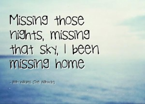 I am Missing Home Quotes IMag