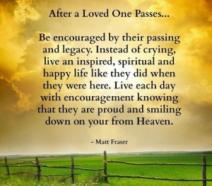 Inspirational Quotes about Losing a Loved One Images