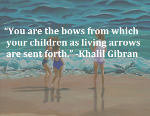 Khalil Gibran Qoute saying on children images