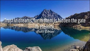 Khalil Gibran Quotes on Dreams Image