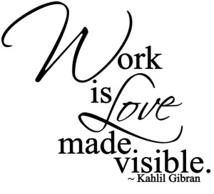 Khalil Gibran Quotes on Work Images high definition