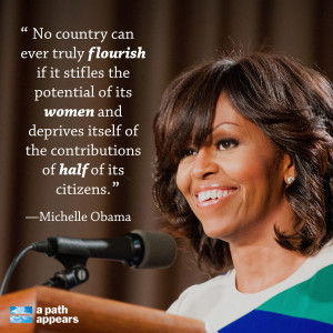 Leadership Quotes by Michelle Obama Images
