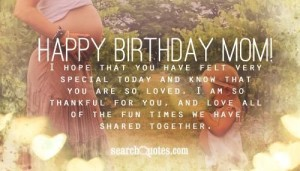 Lovable Happy Birthday Mother Quotes from daughter pics