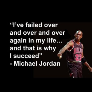 MJ Basketball Inspirational Quotes Images
