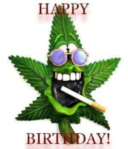 Marijuana Birthday Quotes Images