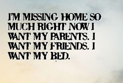 Missing Home Quotes for Military