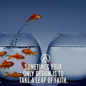 Motivating Leap of Faith Hope Quotes Images