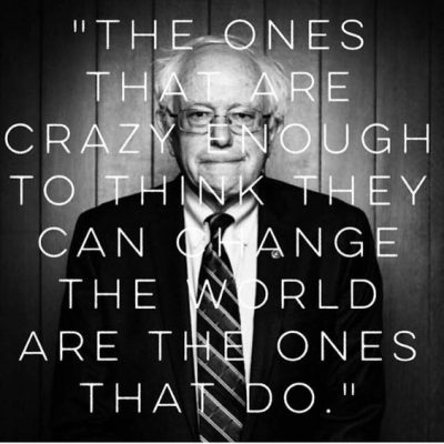 Motivational Bernie Sanders Quote