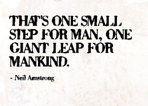 Neil Arm Strong Leap of Faith Quotes IMages