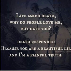 Painful Death Quotes Images