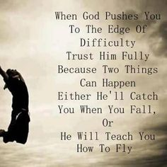 Positive God leap of faith quotes images