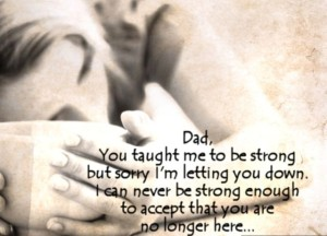 Quotes about Death of a Father Images