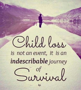 Quotes about Losing your loved child Images