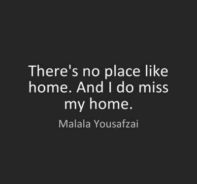 Quotes about Missing Homeland