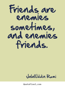 Rumi Quotes on Friendship images