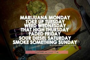 Smoking Marijuana Quotes Images