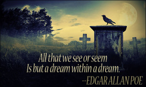 edgar allan poe quotes about night images