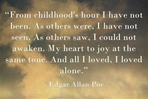 edgar allan poe quotes on family images