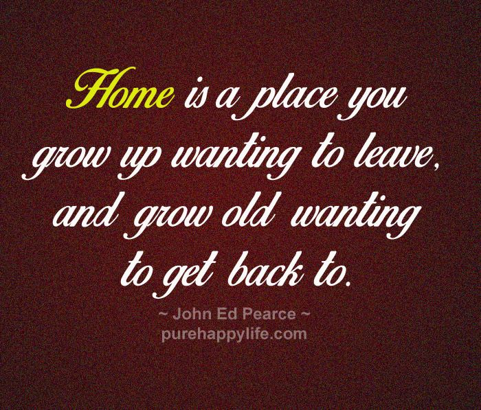 missing back home quotes