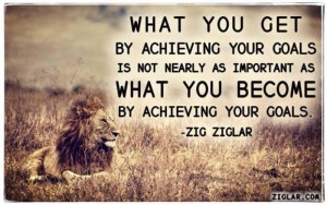 Zig Ziglar quotes about goals images