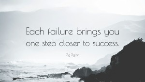 zig ziglar quotes failure imag