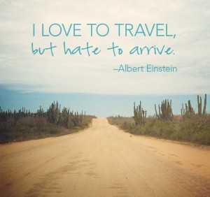 Albert Einstein Travel Quotes