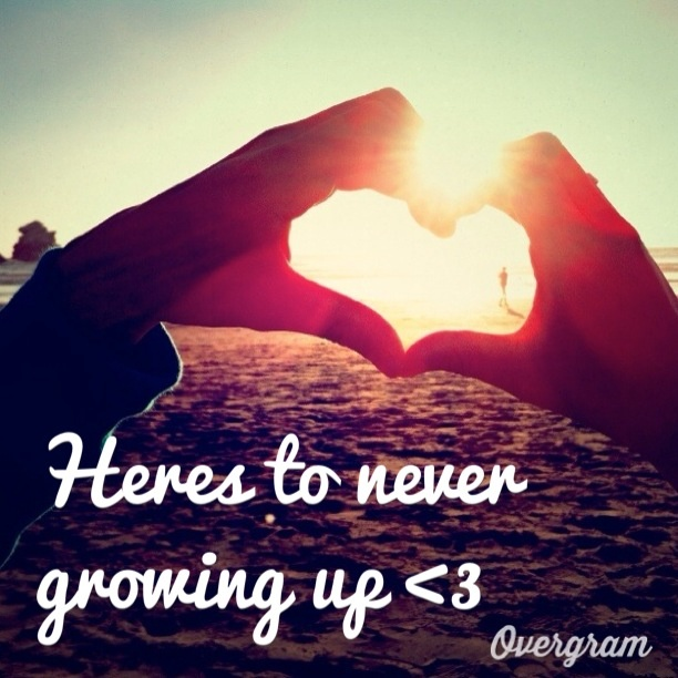 Cute Never Grow Up Picture Quotes The Random Vibez