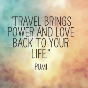 Famous Rumi Travel Quotes