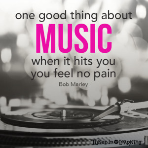 Feel the Music Quotes