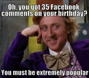 Best Happy Birthday Meme Facebook Funny BIrthday Memes